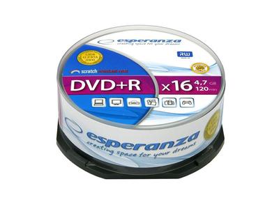 Esperanza DVD-R 4.7gb 25τμχ