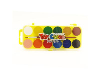 Νεροχρώματα 12 Τεμαχίων Toy Color