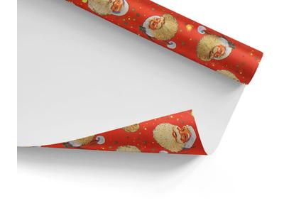 Χαρτί Περιτυλίγματος Santa