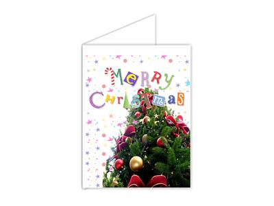 Ευχετήρια Κάρτα 16,5cm x 24cm δίπτυχη