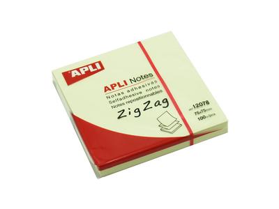 APLI Αυτοκόλλητα Χαρτάκια Ζ-Notes 75x75mm