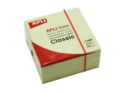 APLI Αυτοκόλλητα Χαρτάκια 75x75mm