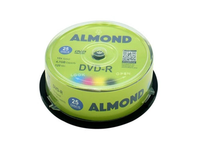 Almond CD-R 700mb 80min 52x 25τμχ