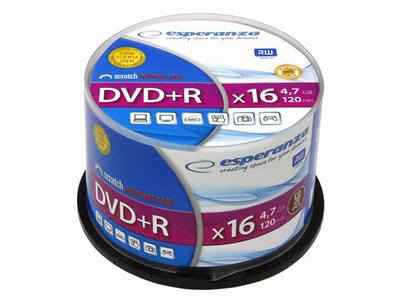 Esperanza DVD-R 4.7gb 50τμχ