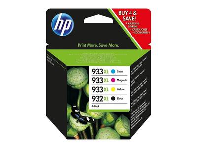 Hp Μελάνι C2P42AE N.932XL & 933XL Combo Pack