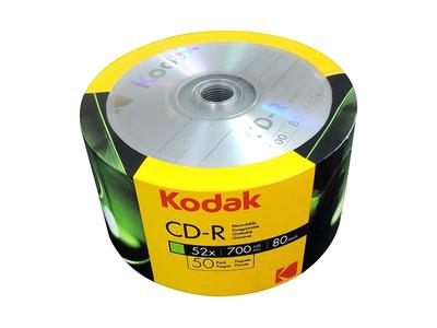 Kodak CD-R Συρρίκνωσης 700mb 52x 50τμχ
