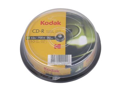 Kodak CD-R 700mb 52x 10τμχ