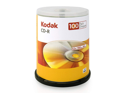 Kodak CD-R 700mb 52x 100τμχ