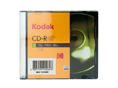 Kodak CD-R 700mb 52x Slim