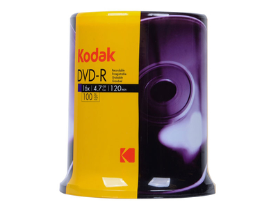 Kodak DVD-R 4.7gb 100τμχ