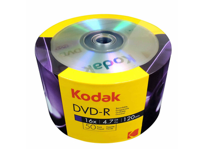Kodak DVD-R 4.7gb 50τμχ