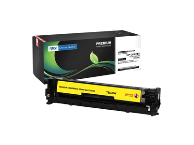 MSE HP Toner LJ Color CP1215 Yellow