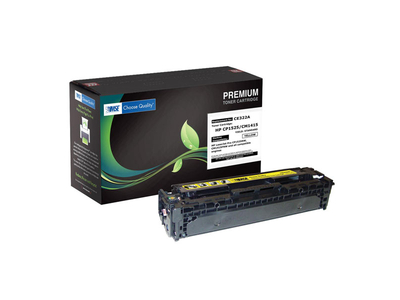 MSE HP Toner Laser LJ Color CP1525 Yellow