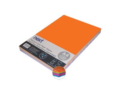 Next Χαρτί Α4 160gr με Διάφορα Χρώματα