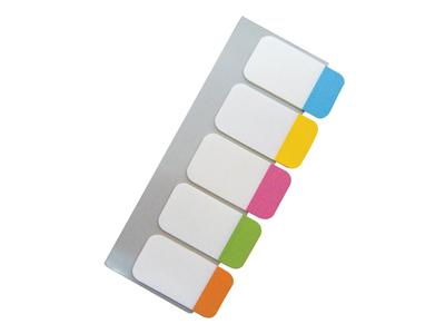 Scripti Αυτοκόλλητοι Σελιδοδείκτες Διάφανοι Neon