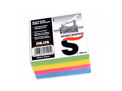 Skag Μύκονος Κύβος Χρώμα Σημειώσεων 9x9cm