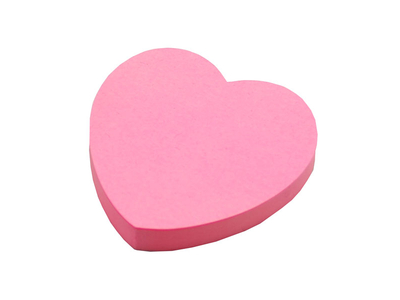 Tix Αυτοκόλλητα Χαρτάκια Καρδιά