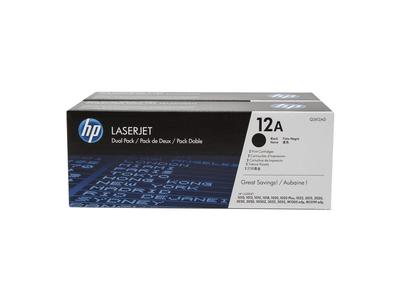 Toner Laser HP 12A Dual Pack