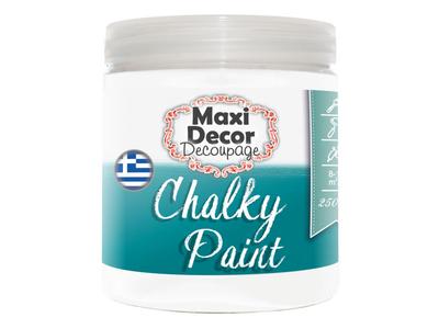Maxi-Decor-Χρώμα-Κιμωλίας-Chalky-250ml-λευκό