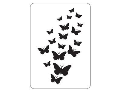 Stencil 18 Πεταλούδες