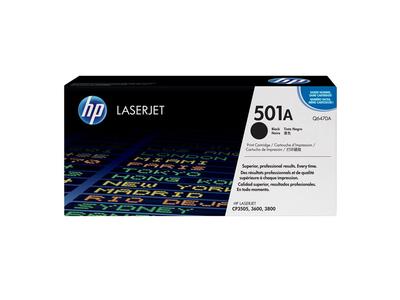 Toner Laser HP 501A Black