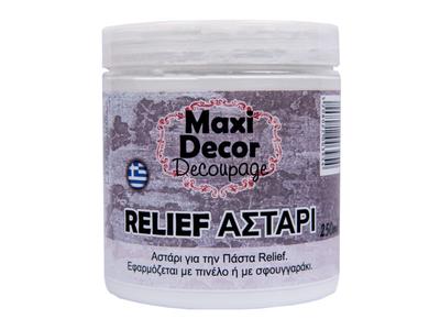 Maxi Decor Αστάρι για Πάστα Relief
