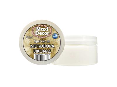 Maxi Decor Υγρό Gel-Μεταφοράς Εικόνας 100ml