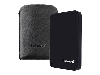 "Portable HDD Intenso 1TB 3.0 2.5"" Black Memory Drive"