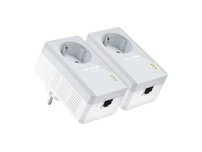 TP-LINK AV600 Passthrough Powerline TL-PA4010P KIT