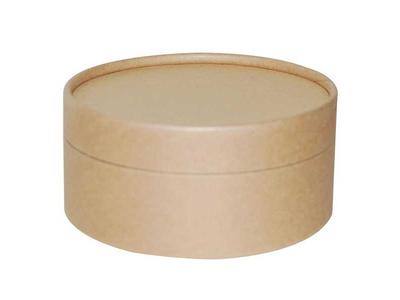Κουτί Οικολογικό Στρογγυλο για Διακόσμηση 12x6εκ