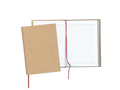Σημειωματάριο με Κραφτ Εξώφυλλο & Σκληρό Καπάκι