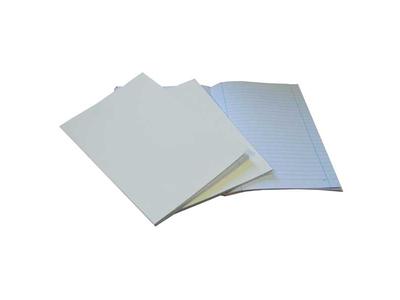 Τετράδιο Καρφίτσα με Λευκό Εξώφυλλο