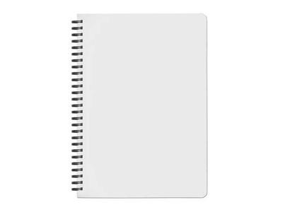 Τετράδιο Σπιράλ με Λευκό Εξώφυλλο & Σκληρό Καπάκι