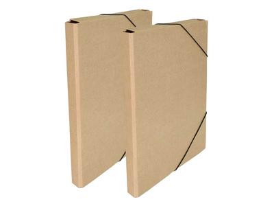 Κουτί με Λάστιχο Οικολογικό 25x35x1,5cm