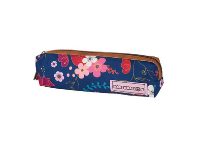 Κασετίνα Βαρελάκι Marshmallow Με Λουλούδια
