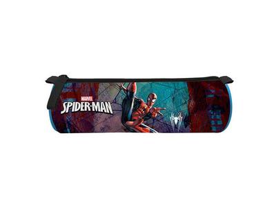 Κασετίνα Βαρελάκι Spiderman 22x7εκ