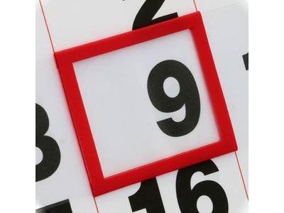 Σετ Ημεροδείκτης Πλαστικός Για Ημερολόγια Τοίχου