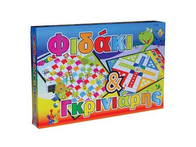 Επιτραπέζιο Παιχνίδι Φιδάκι - Γκρινιάρης Υ5x39,5x26εκ