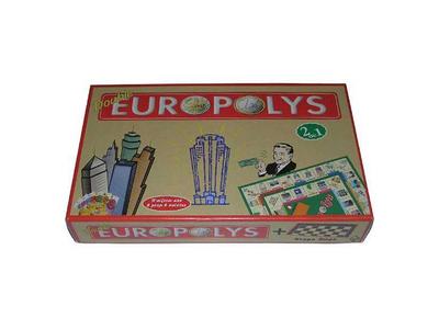 Επιτραπέζιο Παιχνίδι Double Europolys