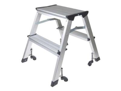 Σκάλα Mini Με Ρόδες & 2 Σκαλοπάτια Υ46εκ