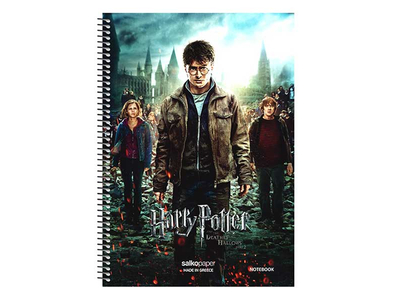 Τετράδιο Μονό Σπιράλ Harry Potter 17x25