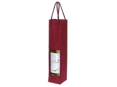 Τσάντα για Μπουκάλι Μπορντώ 8,5x8,5x36εκ