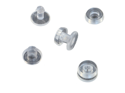Καρφάκι Πλαστικό Διάφανο Ø12mm 1000τεμ