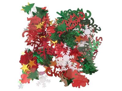 Κονφετί Διάφορα Χριστουγεννιάτικα Σχέδια 16γρ