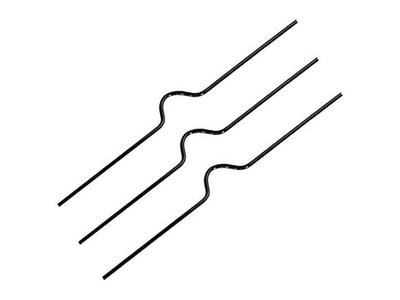 Μεταλλικό Κρεμασταράκι 10εκ 1000τεμ μαυρο
