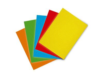 Χαρτόνια Οντουλέ σε Διάφορα Χρώματα 50x70εκ