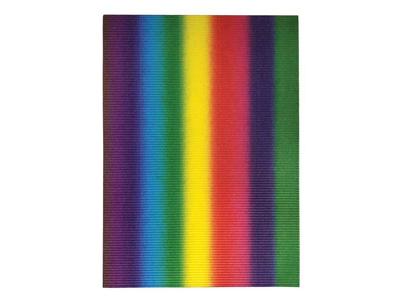 Rainbow Χαρτόνι Οντουλέ Ουράνιο Τόξο 50x70εκ