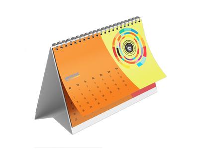 Ημερολόγιο Επιτραπέζιο Δέλτα 15x24 13 Φύλλα - Εκτύπωση Δύο Όψεων