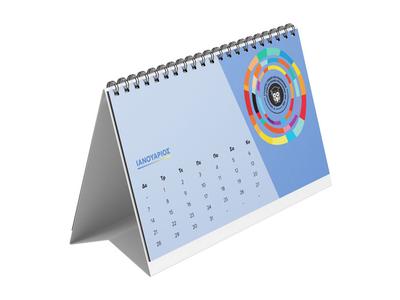 Ημερολόγιο Επιτραπέζιο Δέλτα 15x24 13 Φύλλα - Εκτύπωση Μίας Όψης