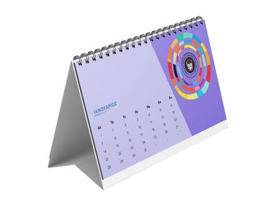 Ημερολόγιο Επιτραπέζιο Δέλτα 15x24 7 Φύλλα - Εκτύπωση Μίας Όψης
